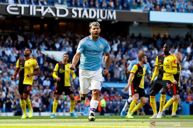 Man City 'ngamuk' atas Watford hingga pesta gol