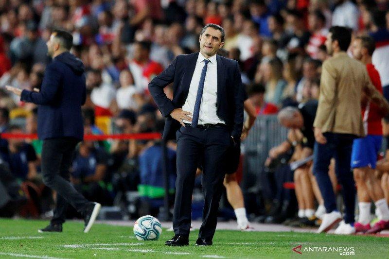 Barcelona tumbang, Valverde sebut dirinya yang patut disalahkan