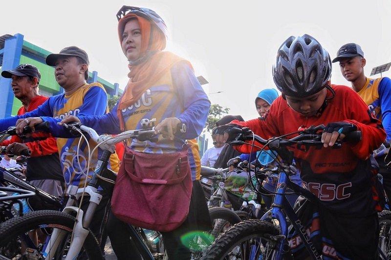 """Lewat """"Gowes Nusantara"""", masyarakat diajak peduli kesehatan"""