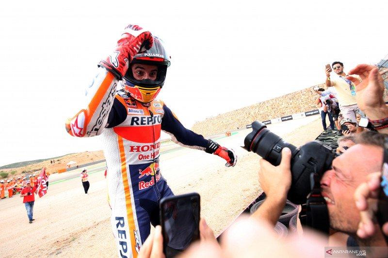Marquez berpeluang kunci gelar keenamnya di Thailand