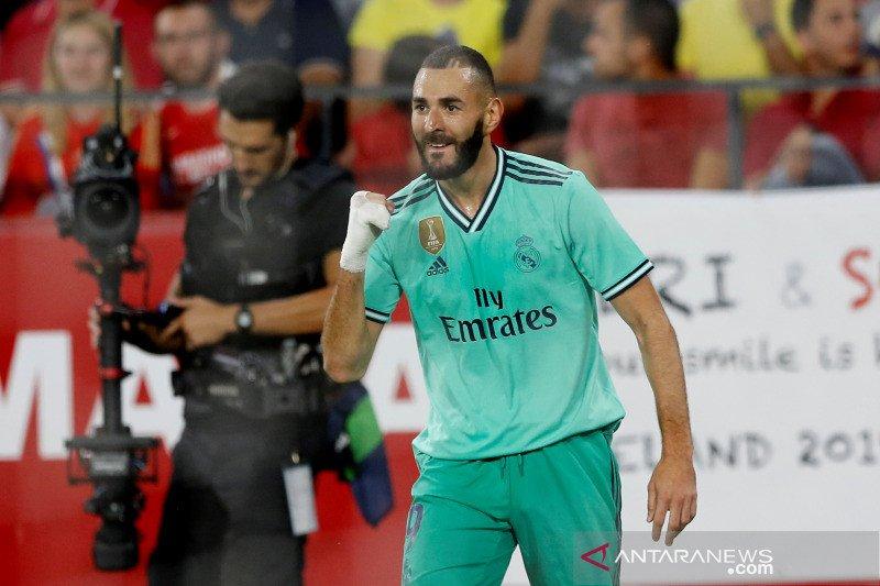Gol Benzema menangkan Real Madrid atas Sevilla