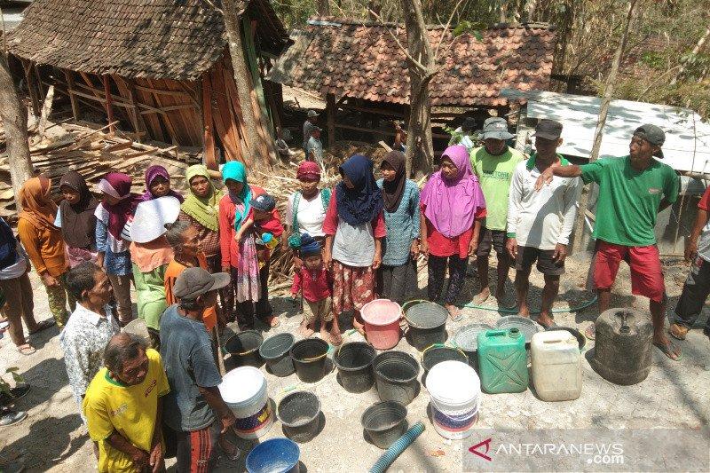 BPBD Bantul masih salurkan bantuan air ke wilayah kekeringan