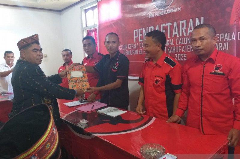 Delapan bakal calon kepala daerah lamar ke PDIP Manggarai