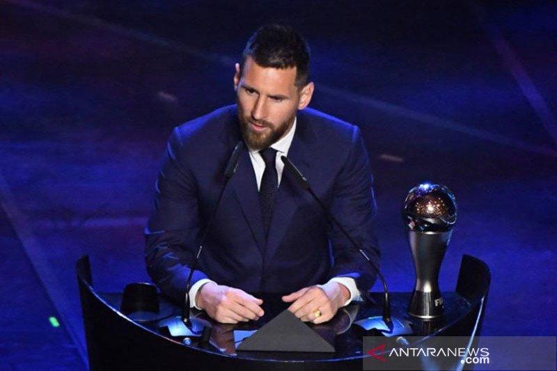 Messi akui belum dapatkan ritme bermain yang pas