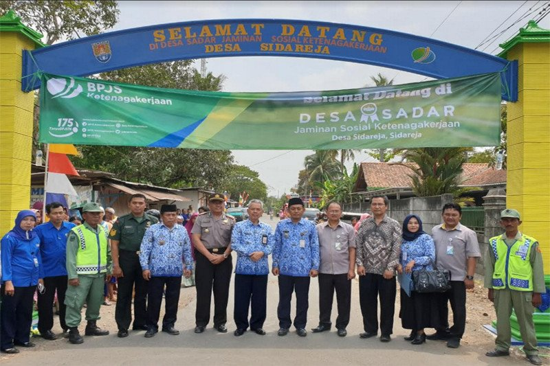 Sidareja Cilacap, Desa Sadar Jaminan Sosial Ketenagakerjaan