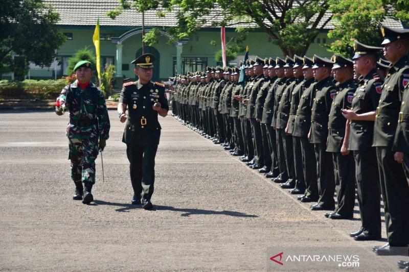 162 prajurit didikan Rindam Hasanuddin resmi sandang pangkat Serda
