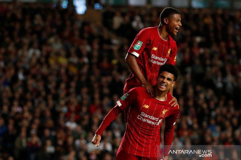 Liverpool kalahkan tuan rumah MK Dons 2-0