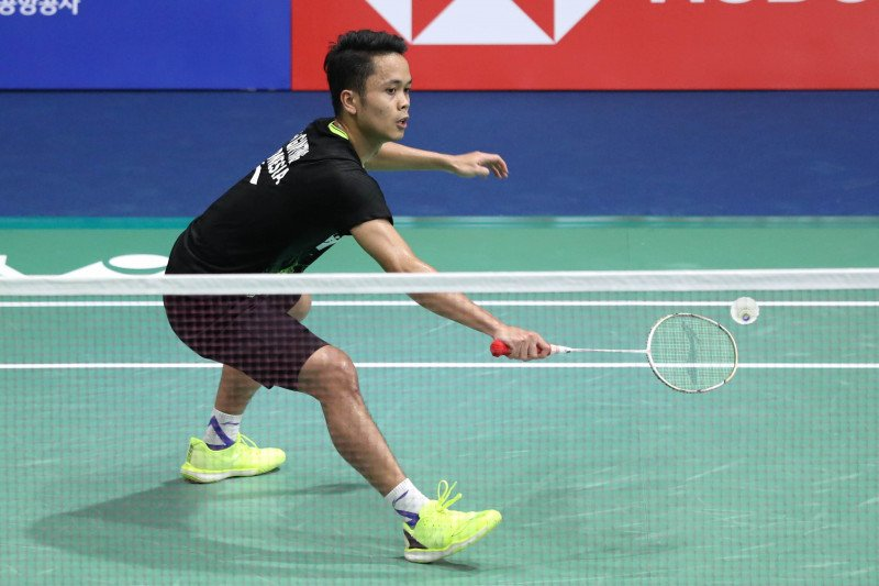 Anthony Ginting kalah di final Hong Kong Open 2019