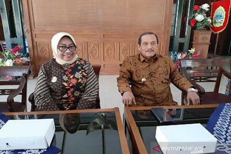 Sijunjung plans to establish cooperation with Gunung Kidul in the development of geopark
