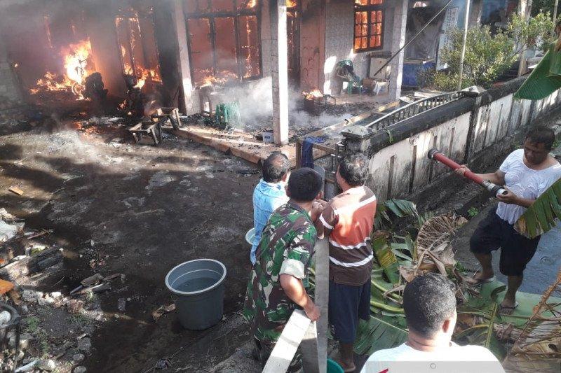 Kebakaran rumah di Sangihe, dua korban meninggal