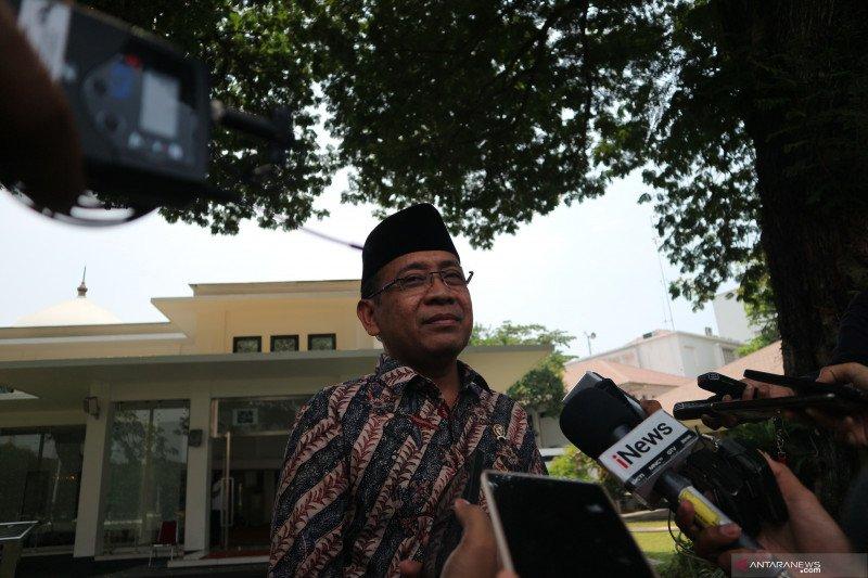 Mensesneg  Pratikno siapkan draf Perppu UU KPK