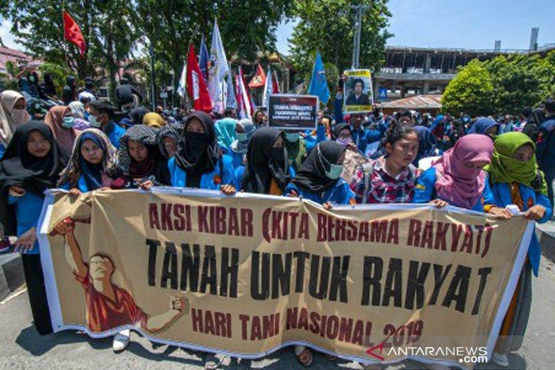 Aksi Hari Tani Nasional di Palu