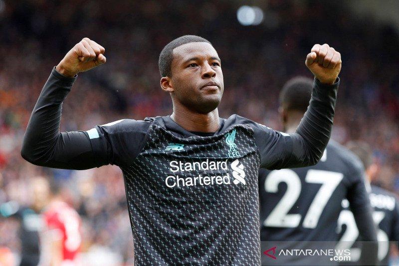 Wijnaldum tegaskan Liverpool masih jauh juarai Liga Inggris