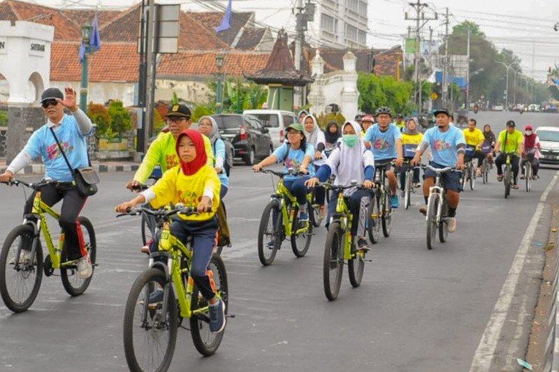 Jogja Bike menjelajahi kampung wisata di Yogyakarta