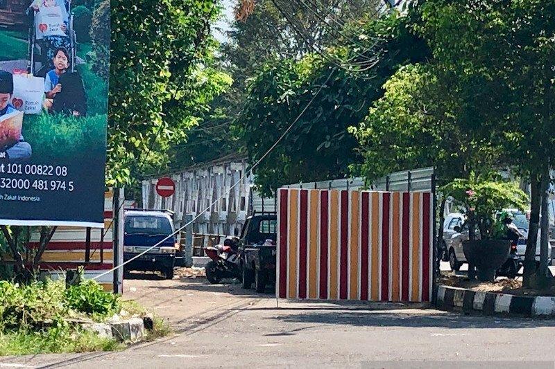 Pekerjaan konstruksi jembatan GL Zoo Yogyakarta rampung sekitar 50 persen
