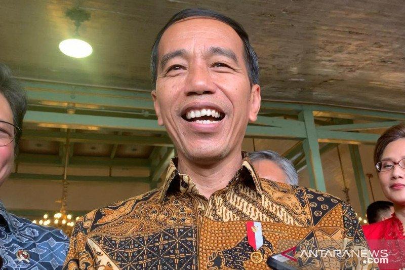 Presiden tetap rayakan Hari Batik Nasional di tengah pandemi corona