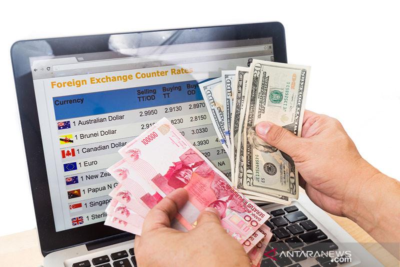Rupiah menguat pascaintervensi Bank Indonesia
