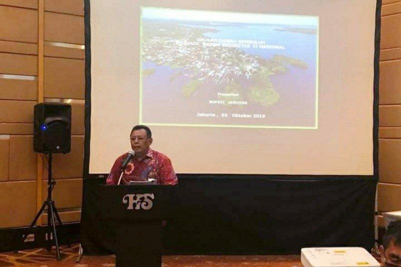 Pemkab upayakan Danau Sembuluh menjadi pengelolaan prioritas nasional