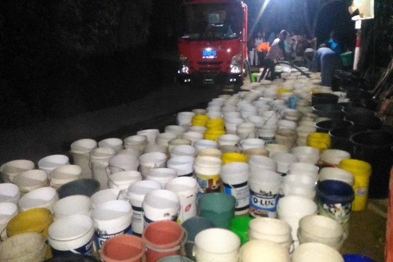 88 desa kekeringan, BPBD Banyumas intensifkan distribusi air bersih