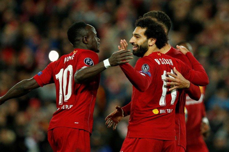 Liga Champions, Liverpool susah payah kalahkan Salzburg 4-3 di Anfield