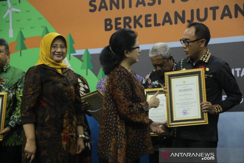 Hanya Waykanan daerah di Lampung yang dapat penghargaan STBM tingkat nasional