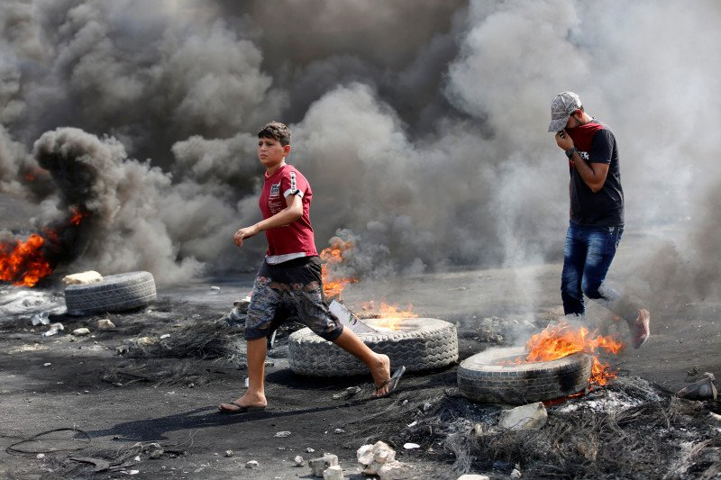 Irak gunakan kekuatan militer berlebihan terhadap demonstran