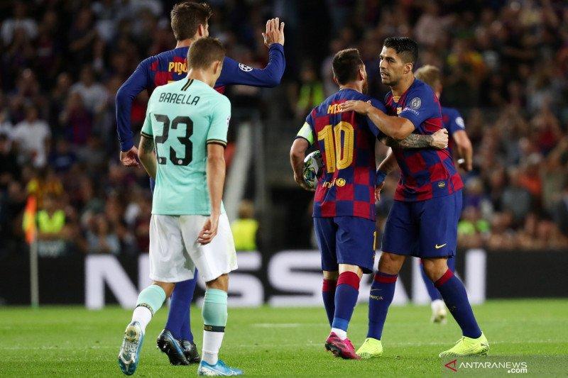 Messi tegaskan tak ada masalah dirinya dengan Antoine Griezmann