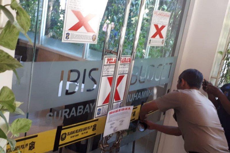Hotel Ibis Budget Surabaya disegel