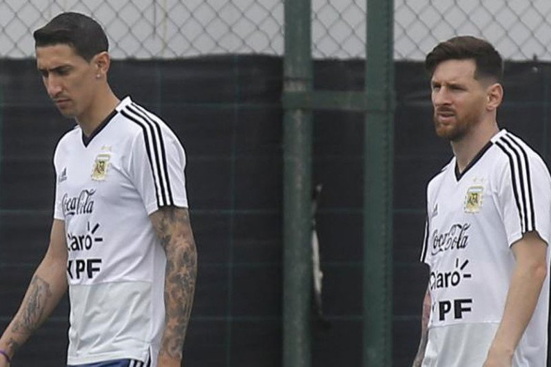 Messi berpidato, skuat Argentina menangis di Copa America