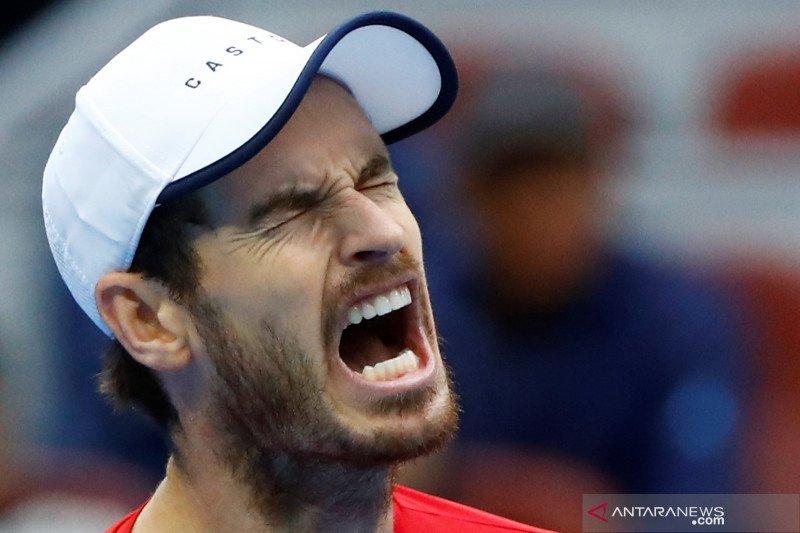 Murray ambil hikmahnya kalah di perempat final China Open