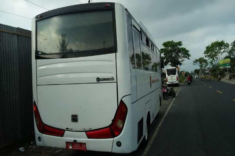 Pelajar tewas tertabrak bus Pemkab Magelang