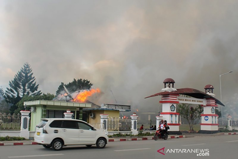 92 orang ditetapkan tersangka kerusuhan di Papua