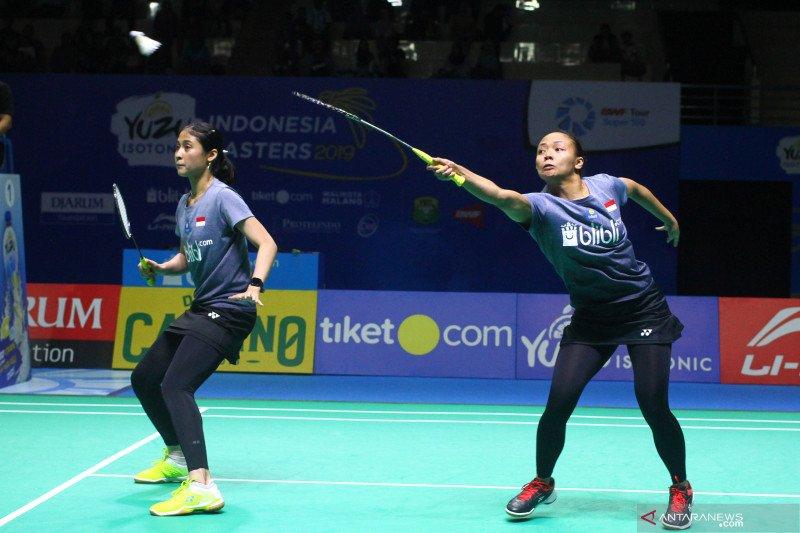 Della/Rizki dikandaskan unggulan pertama di semifinal Macau Open