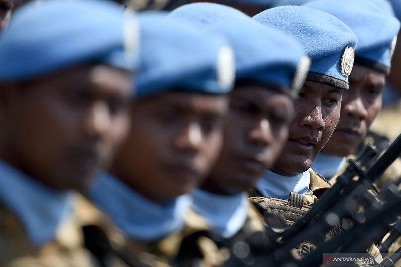 Menlu Retno: tidak ada pasukan perdamaian Indonesia terinfeksi COVID-19