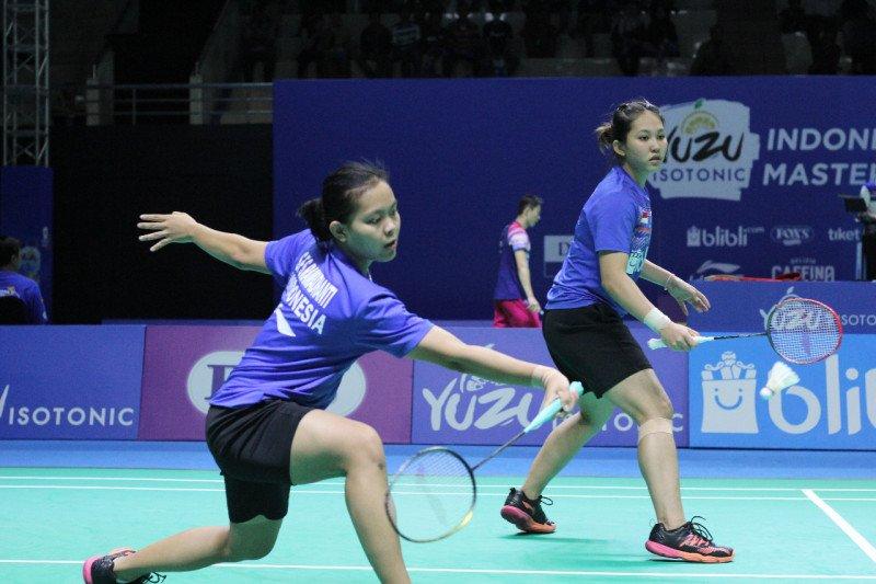 Semifinal Indonesia Masters 2019, Siti/Ribka menghadapi tantangan berat