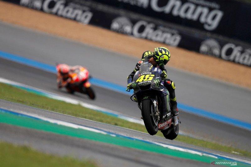 Penyebab posisi start buruk Rossi di Thailand