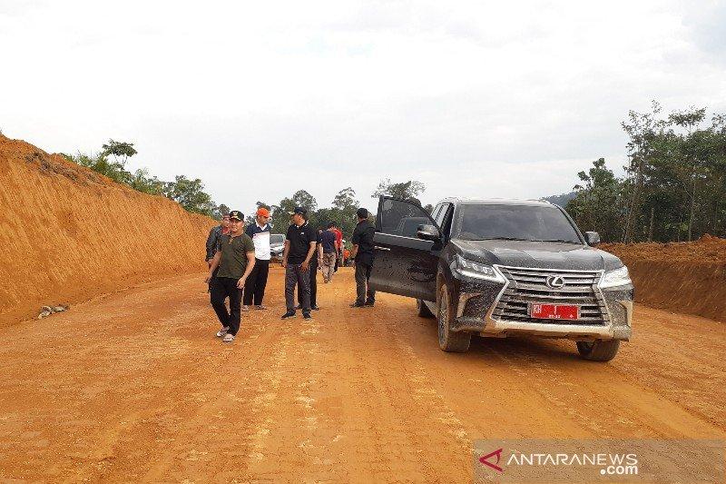 Gubernur tinjau kondisi jalan Sukamara-Lamandau-Seruyan