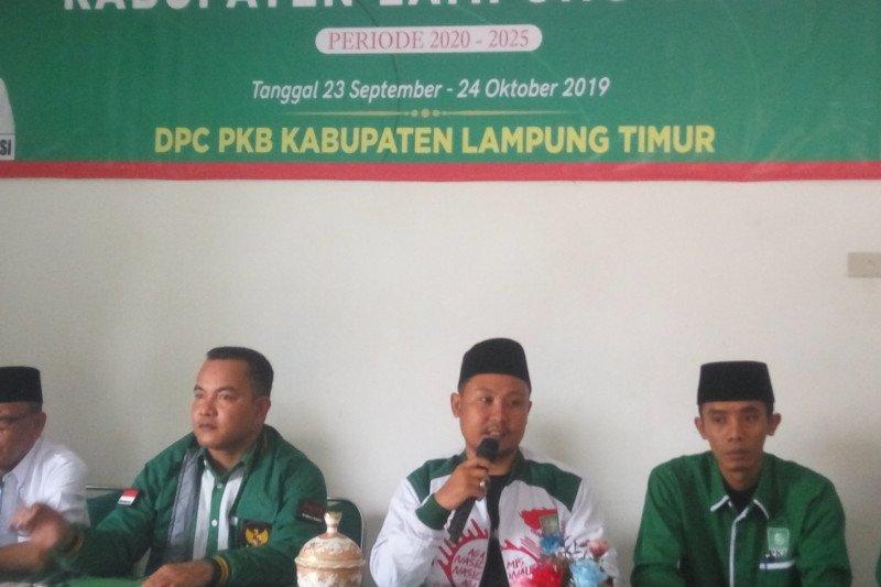 Penjaringan calon kepala daerah PKB Lampung Timur ditutup