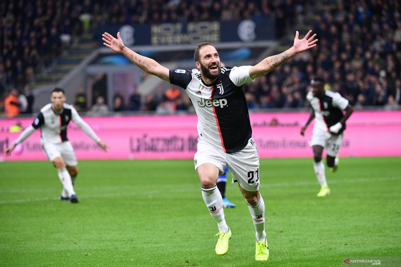 Juventus putus kontrak Gonzalo Higuain