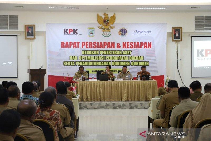 KPK masih kawal penertiban aset pemda di Papua Barat