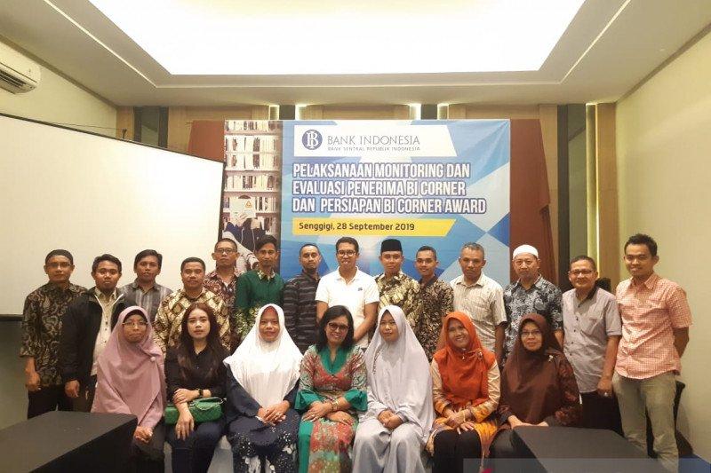 Bank Indonesia mendorong peningkatan kualitas BI Corner NTB
