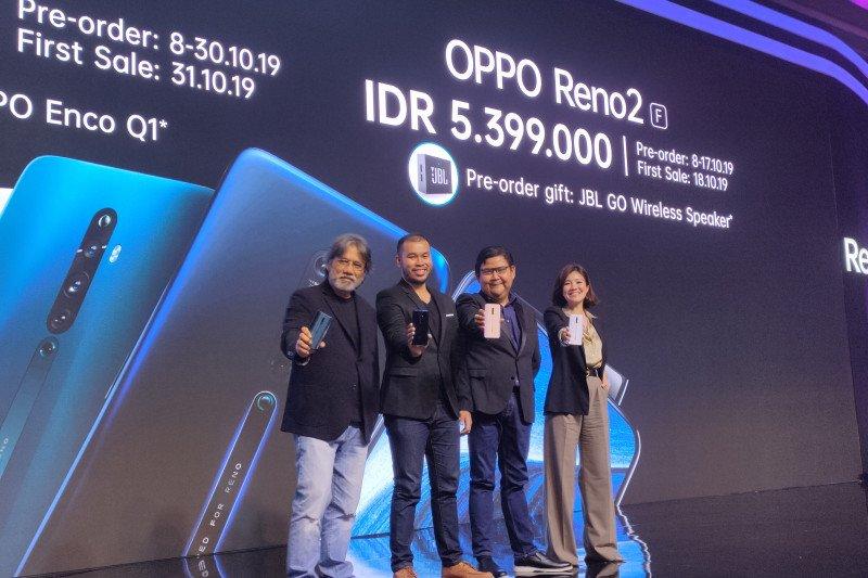 OPPO Reno 2 dibanderol  5 juta
