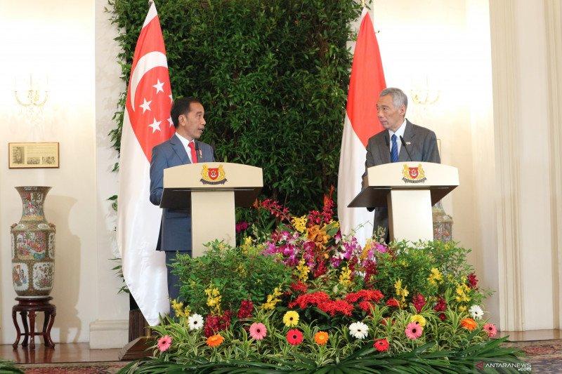 Indonesia dan Singapura sepakati kerja sama sejumlah bidang