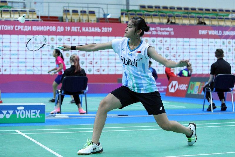Tiga wakil Indonesia tunggal putri di 16 besar WJC 2019