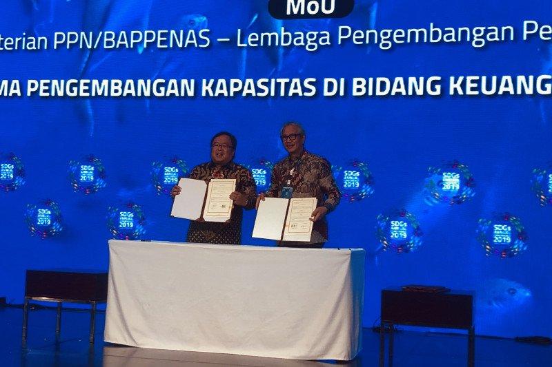 Bappenas has signs MoUs to achieve SDGs target