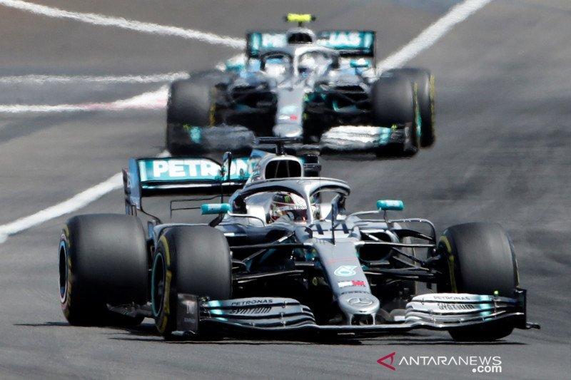 Mercedes berpeluang kunci juara dunia konstruktor keenam di GP Jepang