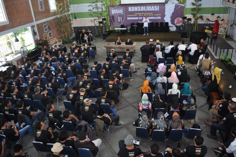 Dukungan Pelantikan Jokowi-KH Ma'ruf, Brigade 01 Jabar kirim ribuan kader ke Jakarta