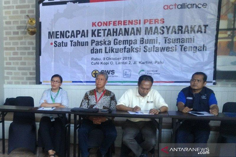 CWS bantu korban bencana Sulteng dengan empat program kerja