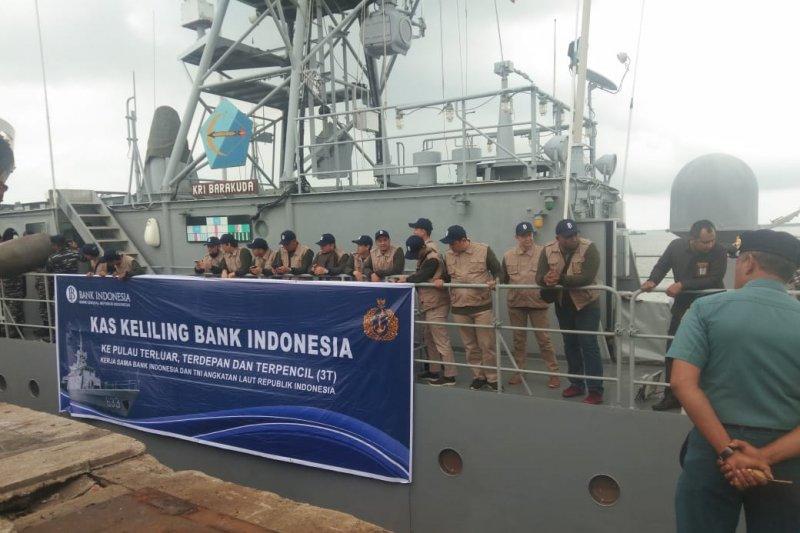 Kas Keliling BI Riau ekspedisi ke tujuh pulau terluar bawa Rp5,6 miliar