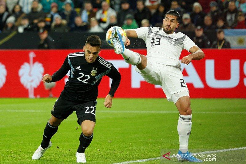 Jerman vs Argentina bermain imbang 2-2 dalam laga persahabatan